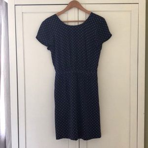 Madewell navy dress